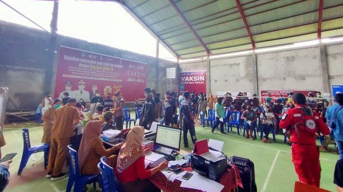 Antusias Masyarakat Tinggi, Ruang Vaksinasi di Bolmong Penuh