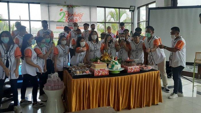 Rayahkan HUT ke 2, Grand Master Resort Berbagi Kasih di Panti Asuhan Sayap Kasih
