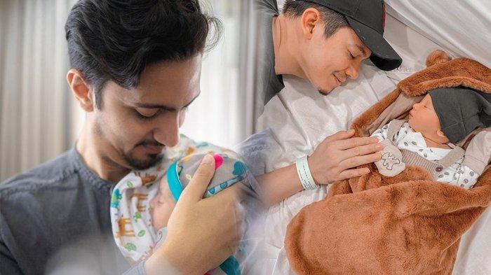 Deretan Artis yang Baru Jadi Seorang Ayah, Begadang Jaga Anak Tetap Ganteng dan Macho