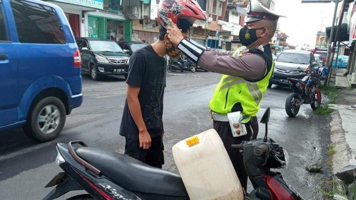 Razia Polres Minahasa Selatan Berhasil Tekan Penggunaan Knalpot Racing di Amurang