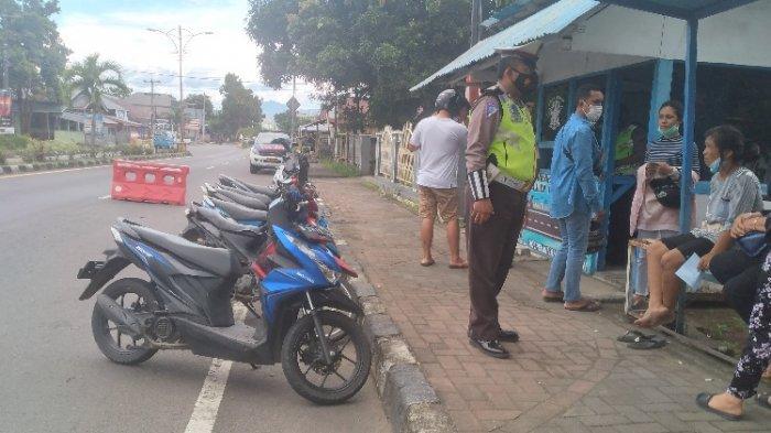 Aparat Desa dan ASN di Minsel Ini Ditilang karena Tidak Pakai Helm, Dokumen Kendaraan Kedaluwarsa