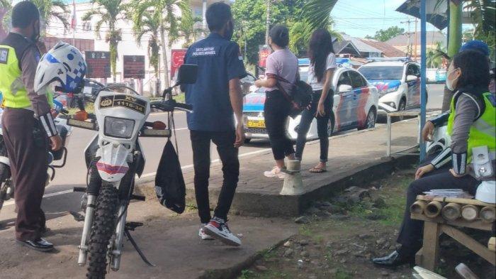 Dua Mobil Bising Terjaring Razia di Amurang
