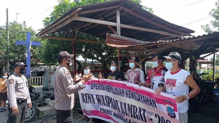 Polres Minsel Gelar Operasi di Terminal Pasar dan Pangkalan Ojek