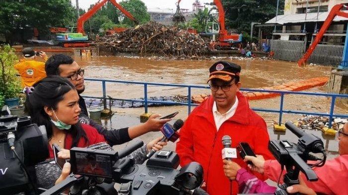 Hari Ini Jakarta Banjir Lagi, Anies Baswedan Singgung soal Ramalan Cuaca BMKG, Gubernur DKI: 'Cukup'