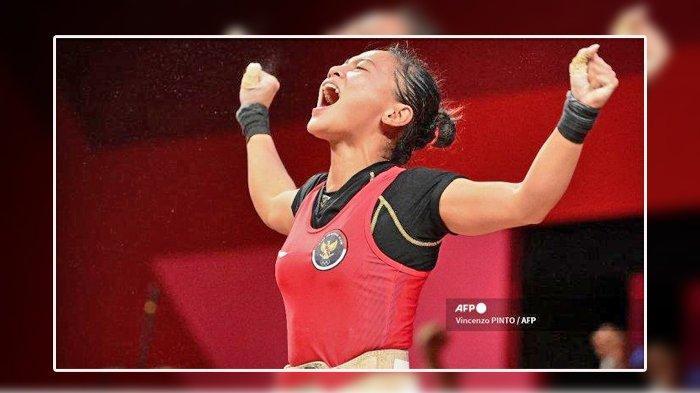 Windy Cantika Aisah, Atlet Cantik Penyumbang Medali Pertama untuk Indonesia di Olimpiade Tokyo 2021