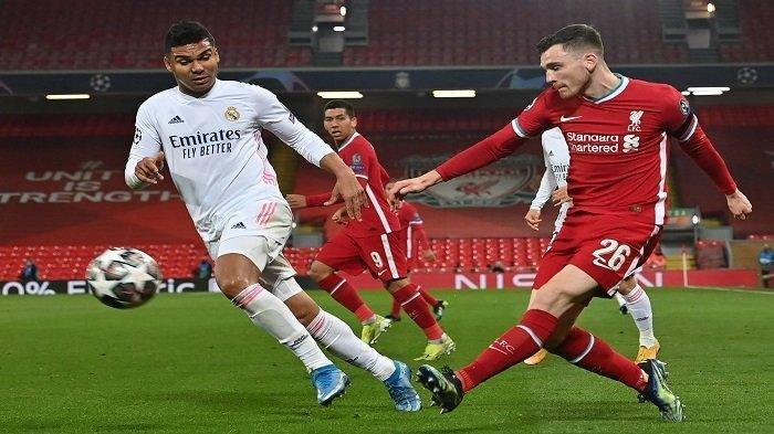 Hasil Liga Champions Liverpool vs Real Madrid, The Reds Gagal Cetak Gol, Los Blancos Terus Melaju