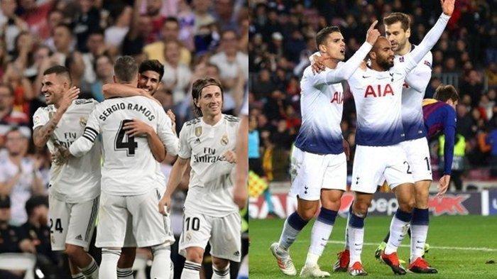 Link Live Streaming Real Madrid vs Tottenham Hotspur Malam Ini di Audi Cup 2019