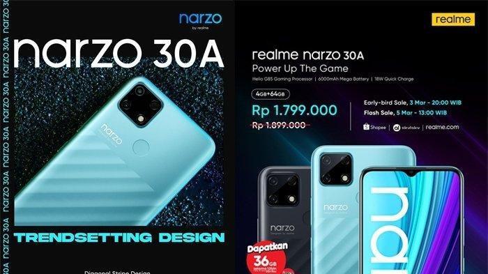 UPDATE, Daftar Harga HP Realme Bulan Mei 2021, Terbaru Realme8 Pro, C21 danRealmeNarzo 30A