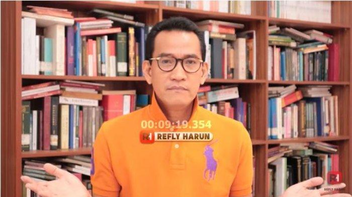 Pakar hukum Refly Harun mengomentari hasil survei elektabilitas Prabowo Subianto.