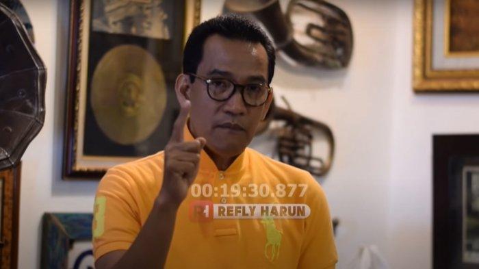 Refly Harun Heran Qodari Ngebet Jokowi 3 Periode Gandeng Prabowo: Apa ya Tujuannya?