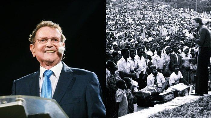 Reinhard Bonnke Saat Melayani di <a href='https://manado.tribunnews.com/tag/afrika' title='Afrika'>Afrika</a>