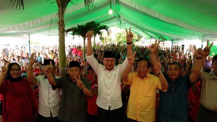 Relawan PDIP di Passi Barat, Komitmen Antar H2M ke Senayan