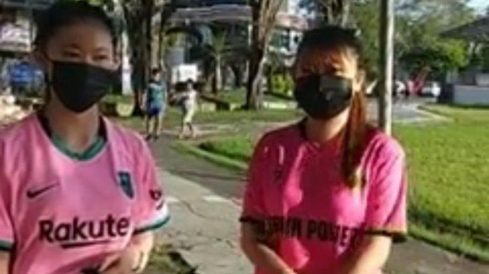Remaja Generasi Z Kota Manado saat ditemui tribun manado di Lapangan Sparta, Tikala.