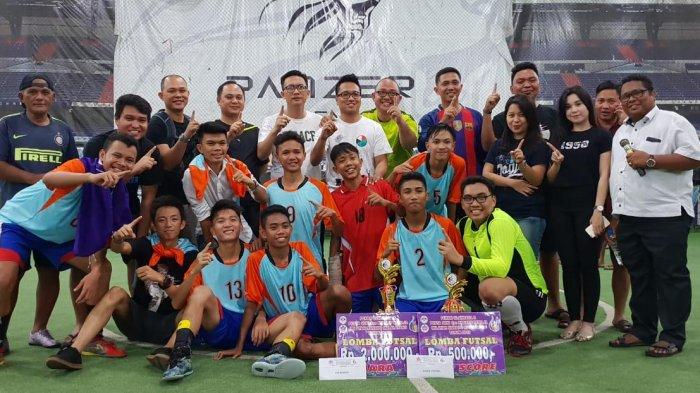 Turnamen Futsal POR-PSdKR GMIM Manado Malalayang 2018 Sukses, Imanuel Bahu Kawinkan Gelar
