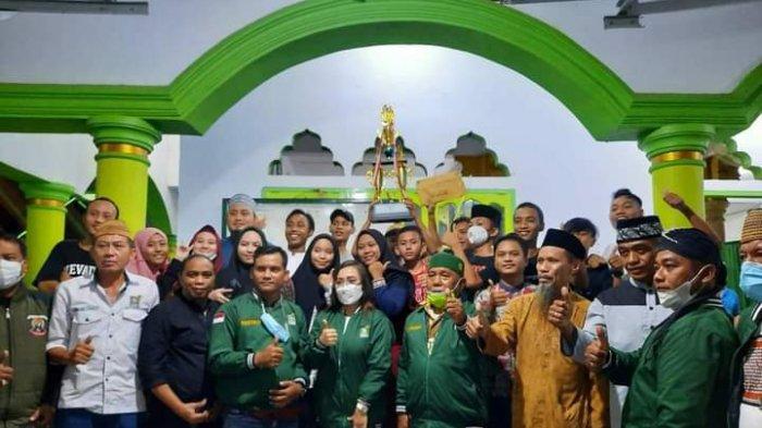 Remaja Masjid Al-Muttaqin Singkil Juara 3 Lomba Lampu Hias Ramadan 2021, Sahrul: Tahun Depan Juara 1