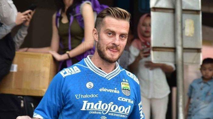 Rene Mihelic - Soal Tantangan di Indonesia usai Jadi Pemain Pertama Persib Bandung dari Slovenia