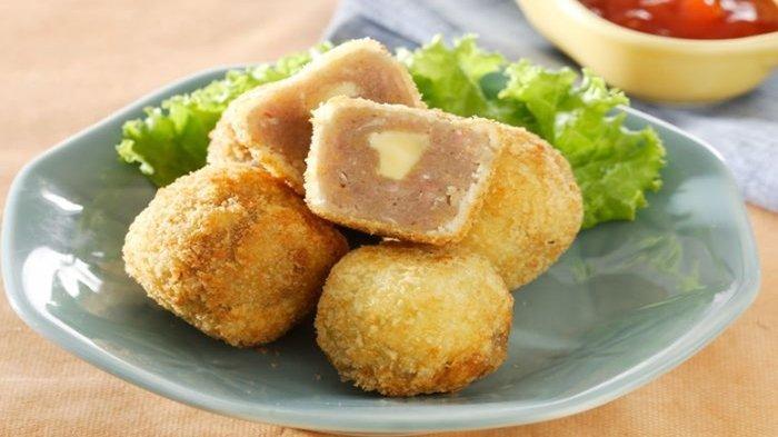 Resep Camilan Praktis: Ayam Mangkuk Isi Keju Goreng Panir