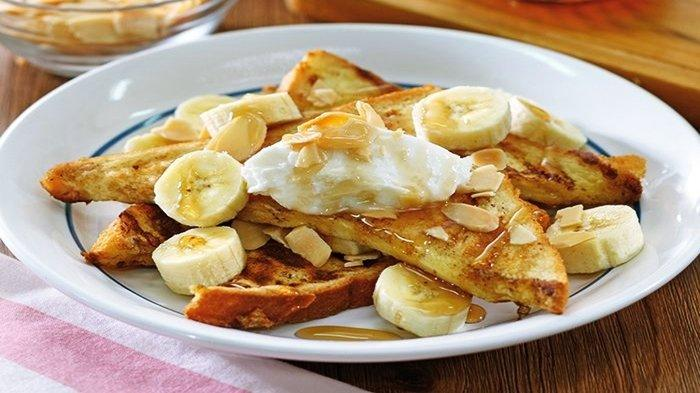 Resep Banana Almond French Toast, Menu Sarapan Spesial untuk Keluarga, Yuk Coba!