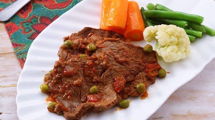 RIlustrasi daging panggang