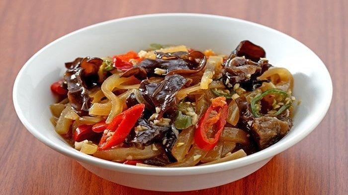 Resep Menu Makan Siang Praktis: Cah Labu Siam Jamur Kuping