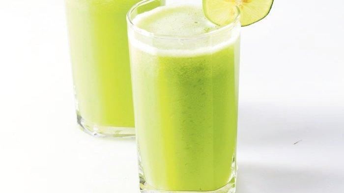 Resep Minuman Dingin Pelepas Dahaga: Jus Sayur Apel, Sehat dan Menyegarkan