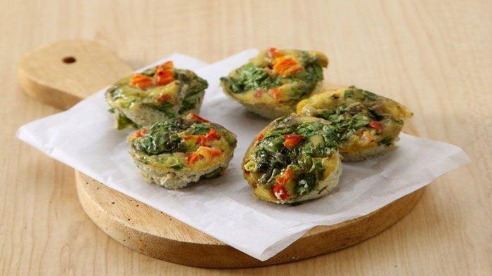 Resep Sarapan Praktis: Muffin Telur Sayuran