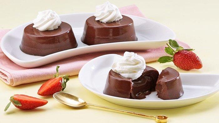 Resep Puding Cokelat Leleh, Santapan Manis untuk Temani Buka Puasamu