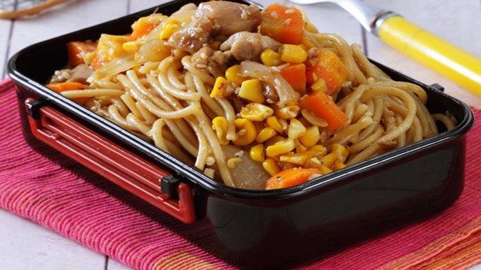 Resep Spageti Ayam Wijen, Menu Buka Puasa Sederhana dan Mudah Dibuat, Hanya Butuh 30 Menit