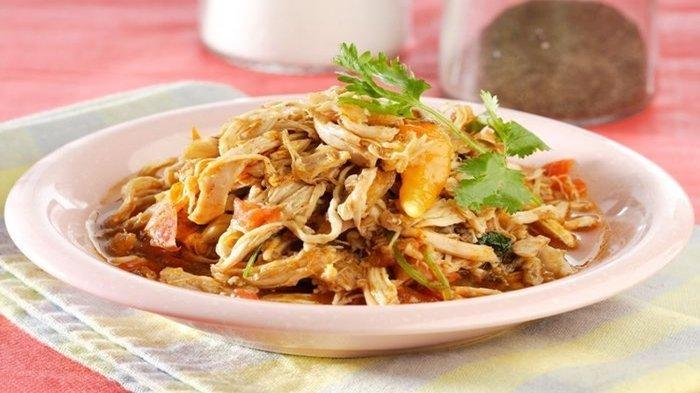 Resep Menu Makan Siang Spesial: Tumis Ayam Suwir
