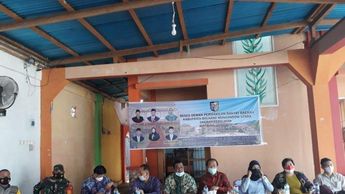 Reses Dapil III Bolmut, Masyarakat Minta Perhatikan Pembangunan Infrastruktur dan Fasilitas Umum