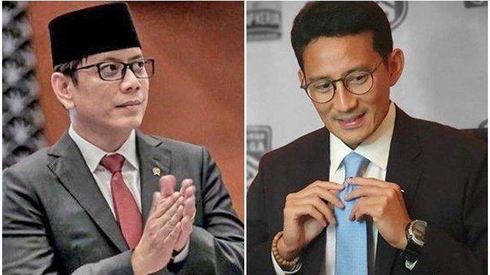 Diresuffle Jokowi, Wishnutama Tulis Pesan Singkat Untuk Sandiaga Uno: Alhamdulillah Pak Sandi . .