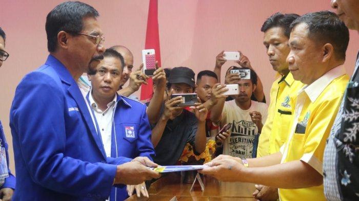 Resmi Mendaftar Calon Wakil Gubernur Sulut di DPD Golkar, Sehan Landjar: Saya Cukup Tahu Diri