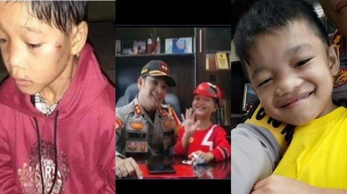 Potret Revan Bocah Dibuang Ibunya, Setahun Setelah Diangkat Anak Kapolres, Gemuk dan Sehat