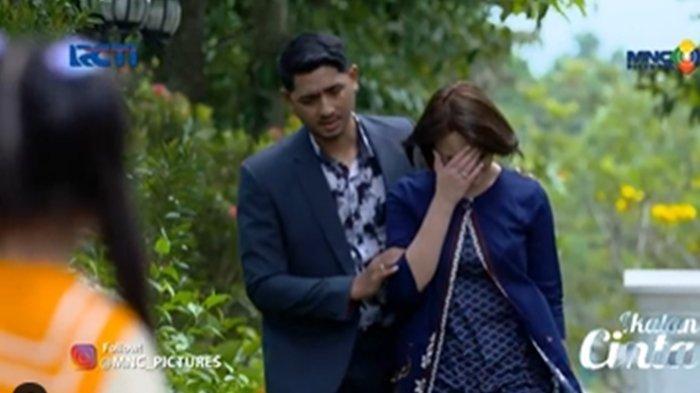 Reyna pergoki Andin menangis - Cuplikan Ikatan Cinta 14 Juli 2021