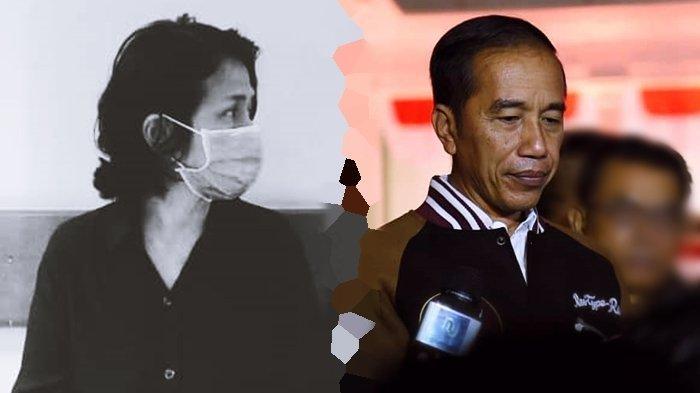 Belum Bisa Ditemui, Presiden Joko Widodo Hanya Bisa Kirim Doa dan Bunga Untuk Ria Irawan