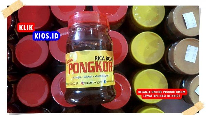 Belanja Yuk! Ada Rica Roa Pongkor Minut di Kios UMKM Sulut