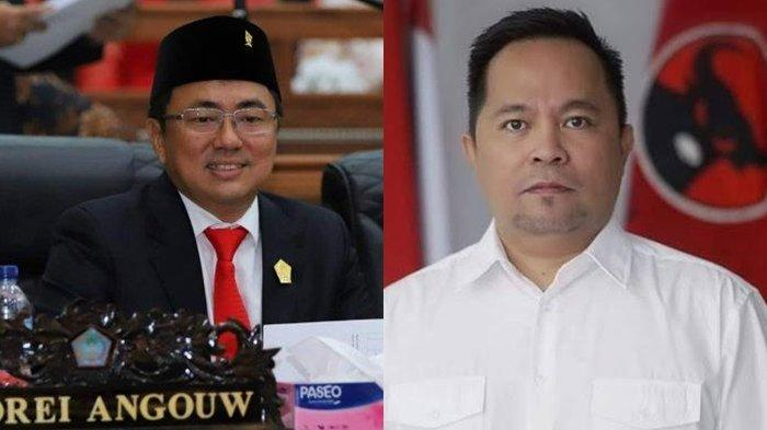 Andrei dan Richard Calon Paling Kuat Diusung PDI Perjuangan di Kota Manado