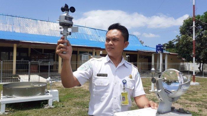 Penjelasan BMKG Stasiun Meteorologi Maritim Bitung Terkait Badai Tropis Surigae, Diimbau Waspada