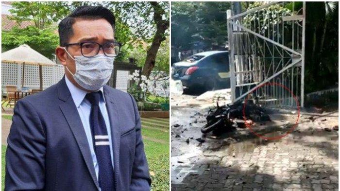 Teror Bom di Gereja, Ridwan Kamil: Saya Sangat Mengutuk Keras, Apalagi Dilakukan di Rumah Ibadah