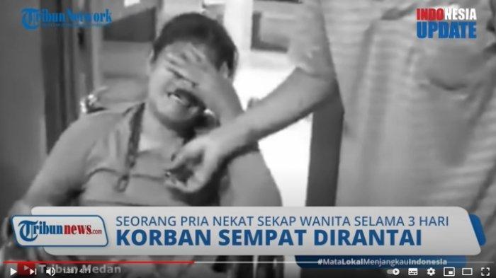 Kondisi terkini Rina Simanungkalit, korban penganiayaan Maniur Sihotang, Minggu (25/4/2021) kolase/youtube tribun medan