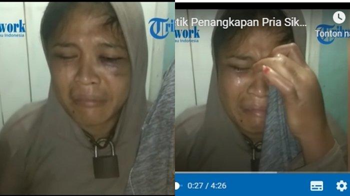 Sosok Rina Simanungkalit, Janda Dua Anak Disiksa Sang Kekasih, Lehernya Dirantai dan Dipukuli