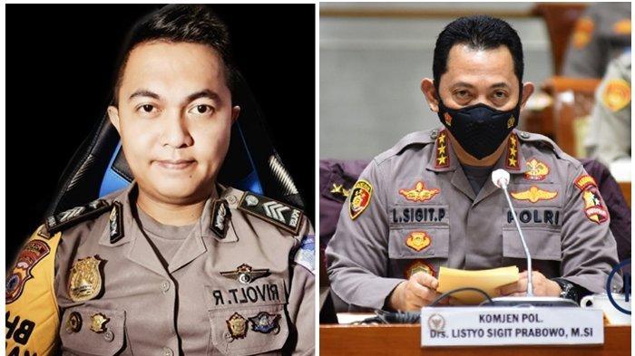 PROFIL Brigadir Rivolt Rampi Anak Buah Kapolri Jenderal Listyo Sigit, Kini Diikuti Ratusan Ribu Akun
