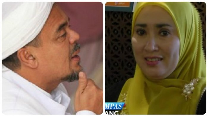 Masih Ingat Firza Husein? Wanita di Kasus Chat Mesra Rizieq Shihab, Ternyata Pengagum Soeharto