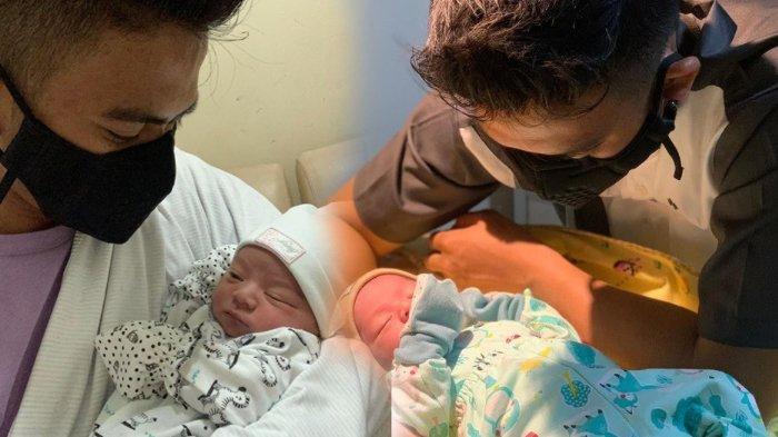 Sempat Diisukan Tak Akui Anaknya, Rizki D'Academy Posting Foto Gendong Putra Pertamanya dengan Nadya