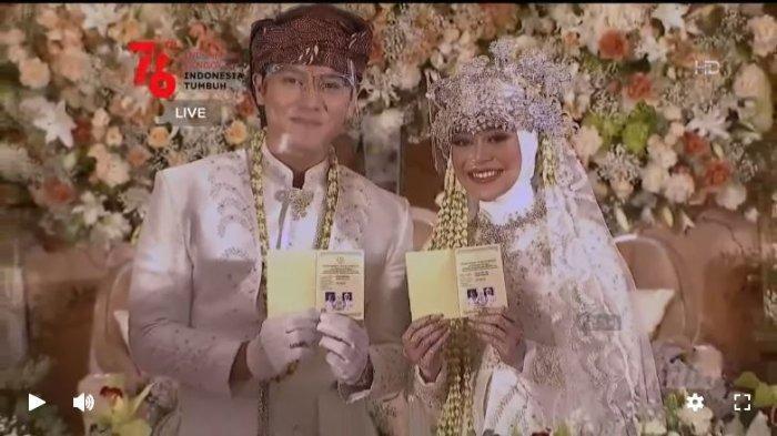 Billar dan Lesty sudah resmi menjadi pasangan suami dan istri, Kamis (19/8/2021).