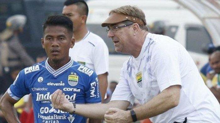 Lawan Barito Putera, Persib Bandung Bertemu Mantan Pelatih, Alberts: Itu Tidak Penting