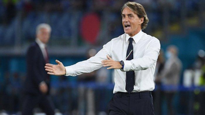 LIVE Streaming Italia vs Spanyol di Euro 2020, Mancini: Laga Sulit, La Furia Roja Tak Seperti Belgia