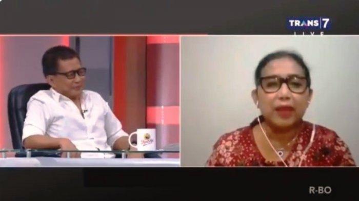 Rocky Gerung dan Irma Chaniago di Mata Najwa