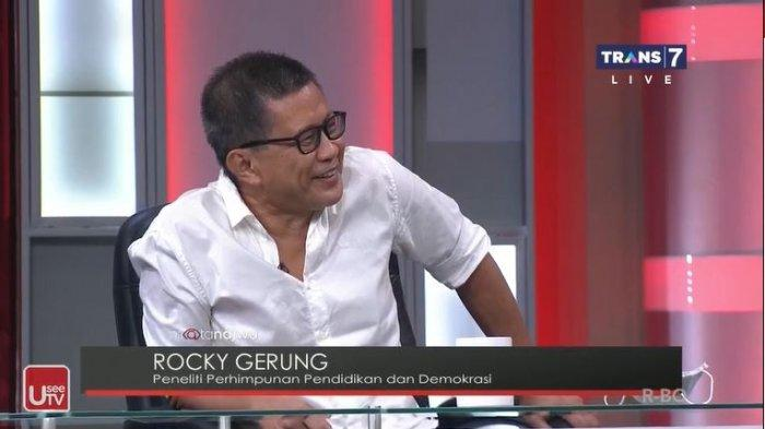 Di Mata Najwa, Irma Singgung Sikap Rocky Gerung ke Pak Jokowi: Kalau Zaman Soeharto Sudah Hilang