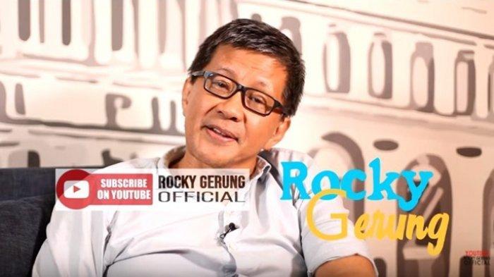 Rocky Gerung kembali kritik Presiden.1